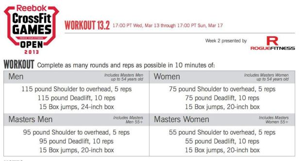 Workout 13point2